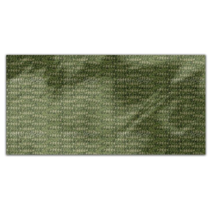 Uneekee Reptilio Green Rectangle Tablecloth (Medium), Multi (Polyester, Print)