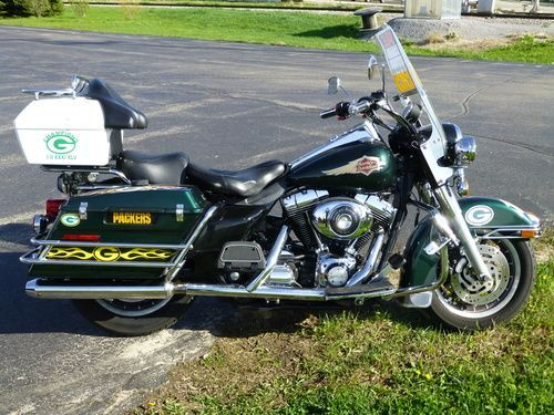 2006 Harley Davidson FLHPI Road King Police w/ABS for sale, Price:$8,000. Hartford, Wisconsin #harleydavidsons #harleys #motorcycles #hd4sale