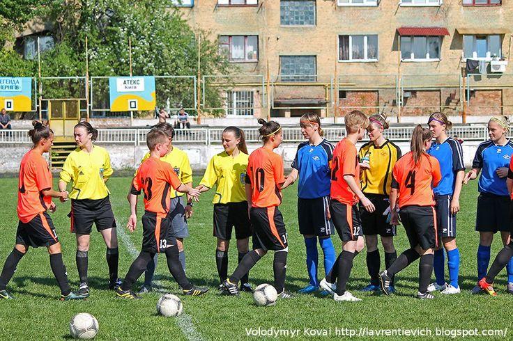 Чернигов - мой город родной! : «Легенда» - «Атекс» 5:0. Женский футбол радует