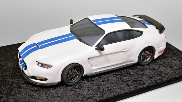 3D Ford Mustang Shelby GT350 Car Cake tutorial just got published! -