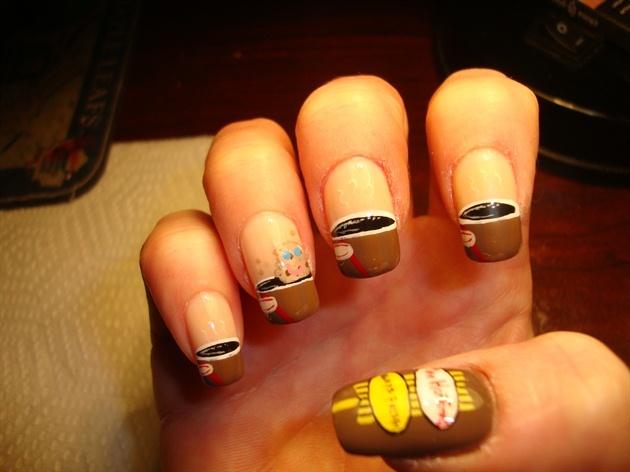 Tim Hortons nails!