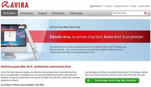 5 meilleurs antivirus gratuits pour Mac