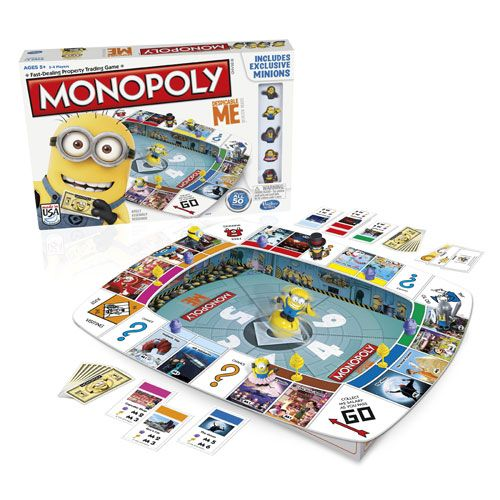 Despicable Me Monopoly Game - Hasbro Games - Despicable Me - Games at Entertainment Earth