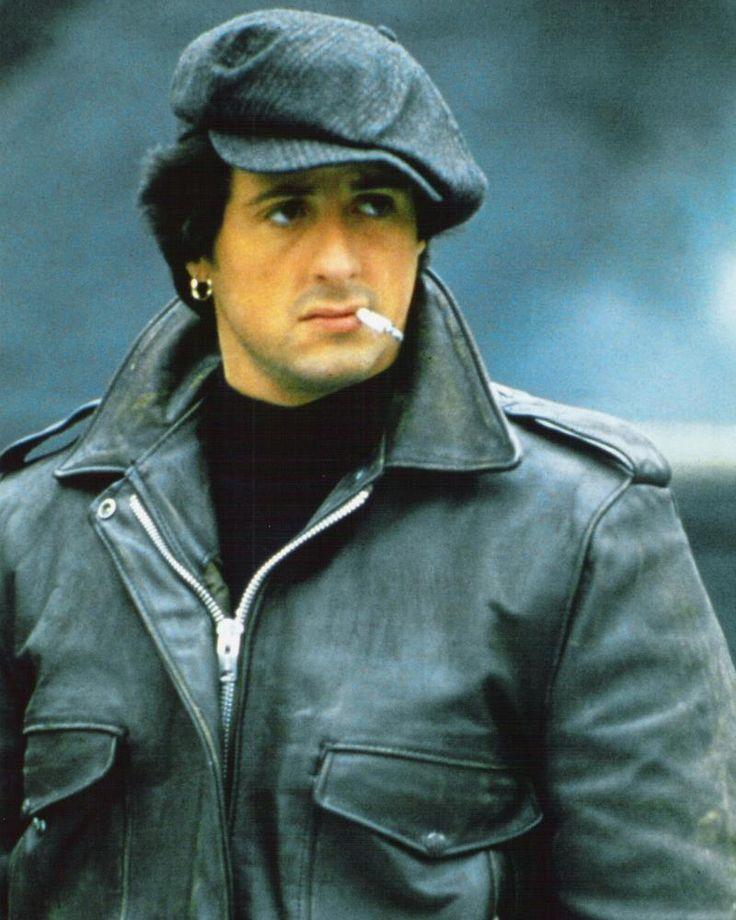 Sylvester Stallone Smoking Hilton Cigarettes