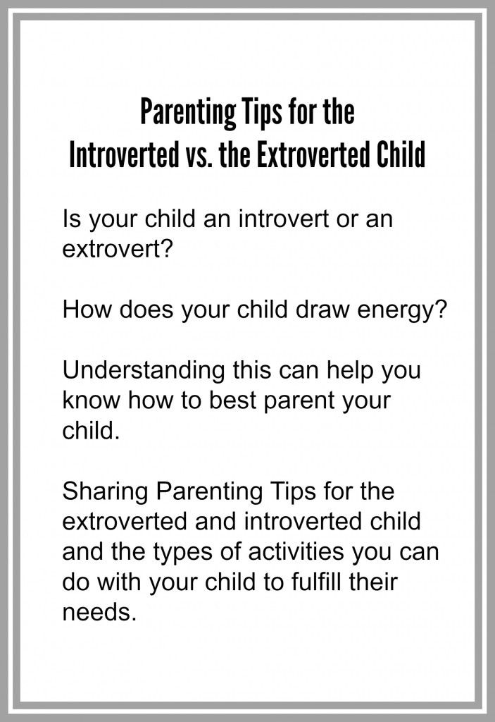 The best: dating an introvert personality in children