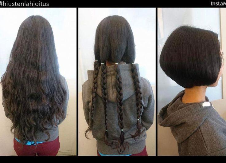 #littleprincesstrust #hiustenlahjoitus #hairdonation #tukkatalo #haircut