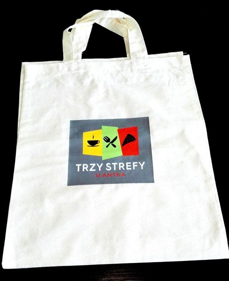 #Materiały #promocyjne w postaci #torby z #logo dla Trzy Strefy by #AgencjaGreenFly