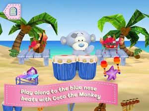 Meet Tatty Puppy and the Blue Nose Friends in a wonderful app that promotes love, affection, sharing, and friendship