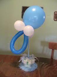 Resultado de imagen para decoración de mesas para baby shower
