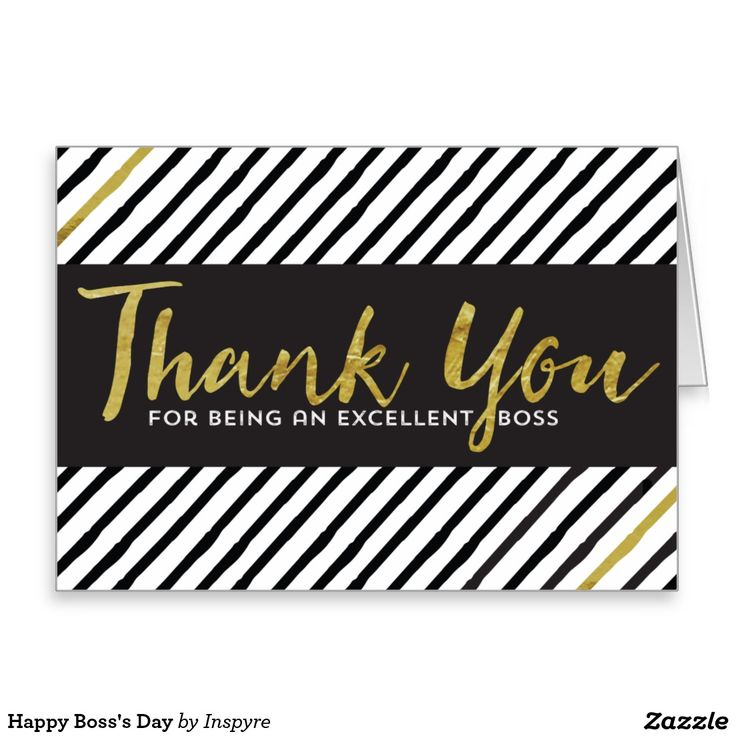 Happy Boss's Day Greeting Card #nationalbossday #boss'sday ...