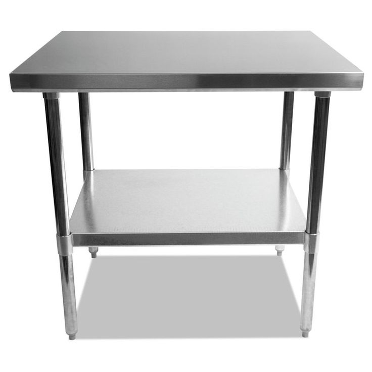 Umbra Stainless Steel Dining Table