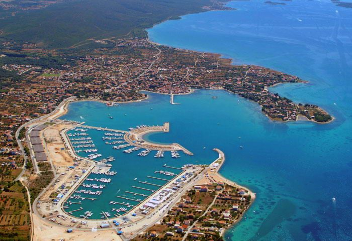 Sukošan Marina Dalmacija - Croatia Charter a yacht and sail in the clear blue waters of Croatia with Yachts-Sailing.com