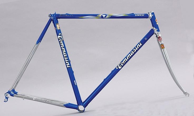 Tommasini Sintesi - custom-made Steel Road Bike Frames