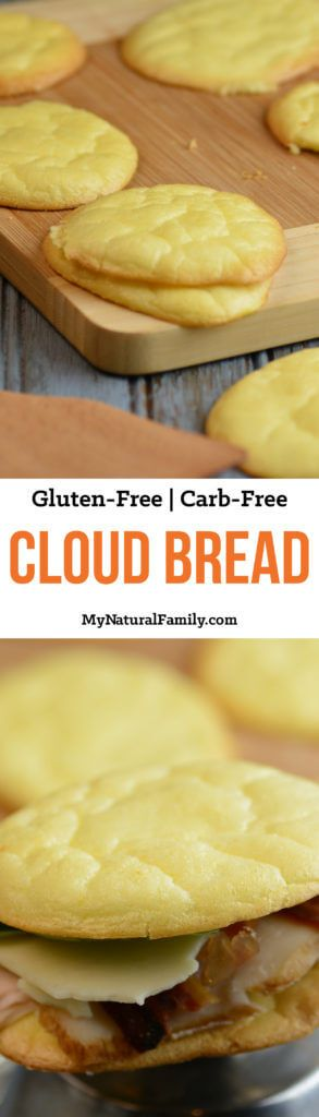 "4-Ingredient Cloud Bread Recipe {Gluten-Free, Carb-Free} - Plus Ideas of How to Use It   Print Prep time 10 mins Cook time 20 mins Total time 30 mins   <img id=""mpprecipe-recipe-130"" class=""mpprecipe-recipe"" src=""http://www.mynaturalfamily.com/wp-content/plugins/meal-planner-pro//mpprecipe-placeholder.png"" alt="""" data-mce-src=""http://www.mynaturalfamily.com/wp-content/plugins/meal-planner-pro//mpprecipe-placeholder.png""> Author: My Natural Family Serves: 6 Ingredients 3 eggs, separated 3…"