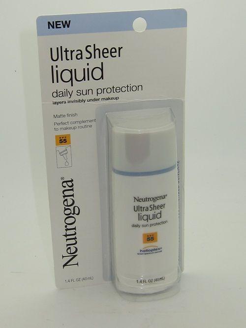 Neutrogena Ulta Sheer Liquid Daily Sun Protection SPF 55