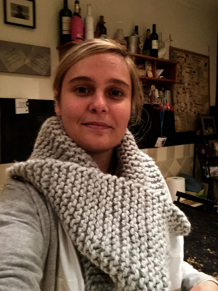 XL snood point mousse #homemade
