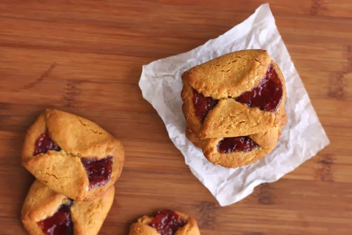 Strawberry Turnover Cookies