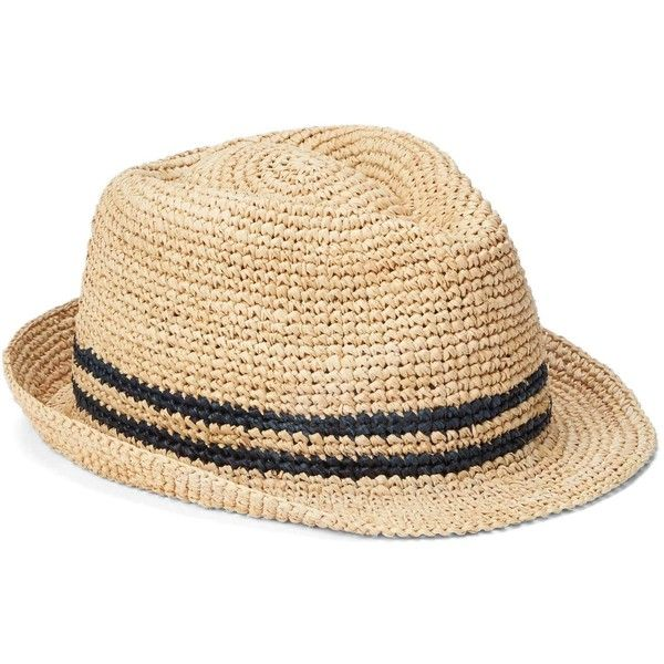 Gap Men Raffia Fedora ($25) ❤ liked on Polyvore featuring men's fashion, men's accessories, men's hats, mens raffia hat, mens hats fedora, mens fedora, men's brimmed hats and mens hats