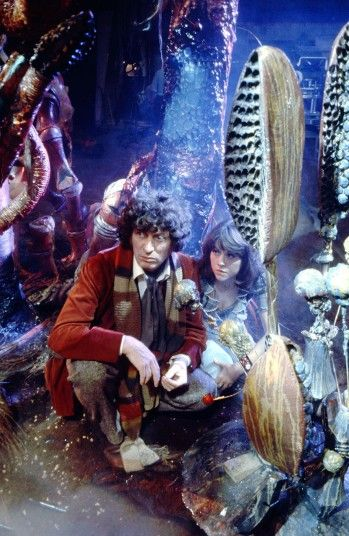 Here's Baker again with Sarah Jane Smith (Elisabeth Sladen), generally regarded as the finest Doctor Who assistant. Sladen returned to the s...