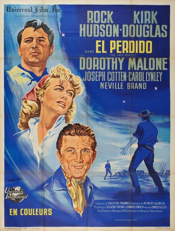 El perdido - The Last Sunset - Robert Aldrich - 1961 - Kirk Douglas • Western Movies - Saloon Forum •