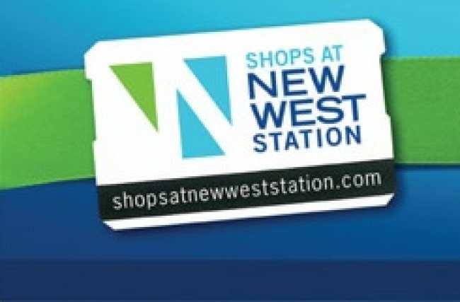 Shops at New West Skytrain Station