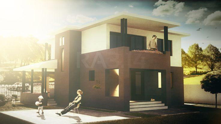 by RA3.14 Architecture & Interior Design | Family House | Rendering | Architecture Visualization