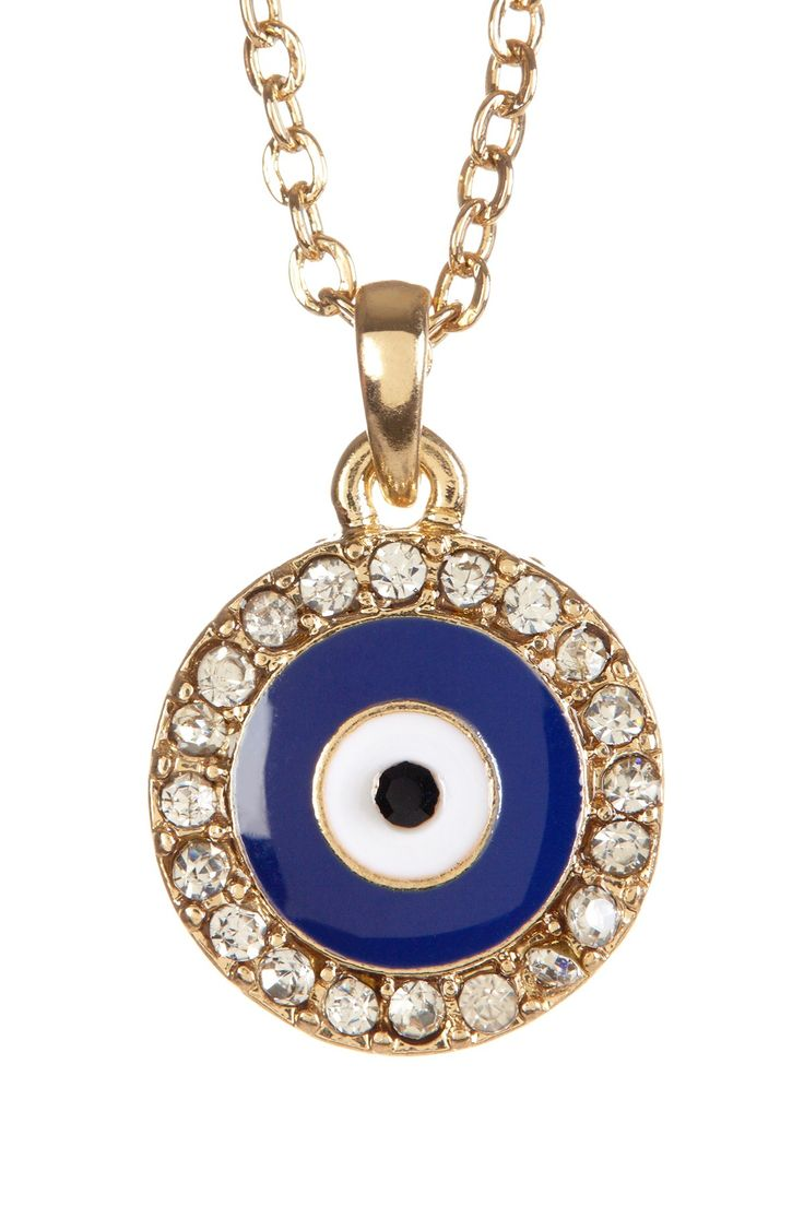 Zsa Zsa Jewels | Evil Eye Necklace | Nordstrom Rack