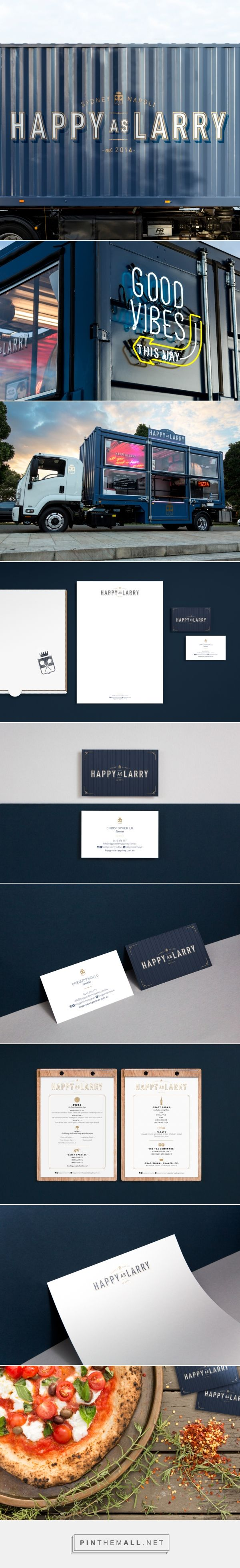 Happy As Larry on Behance... - a grouped images picture - Pin Them All