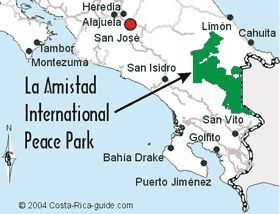 La Amistad National Park, Costa Rica & Panama.  La Amistad is an impressive binational park that stretches from Costa Rica into Panama, a small portion of which extends into the Chiriqui province