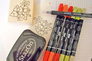 Tutorial for Coloring with Stampin' Up! Markers