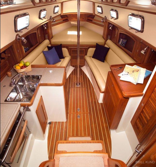 Segelyachten innen  Die besten 20+ Segelboot innen Ideen auf Pinterest ...