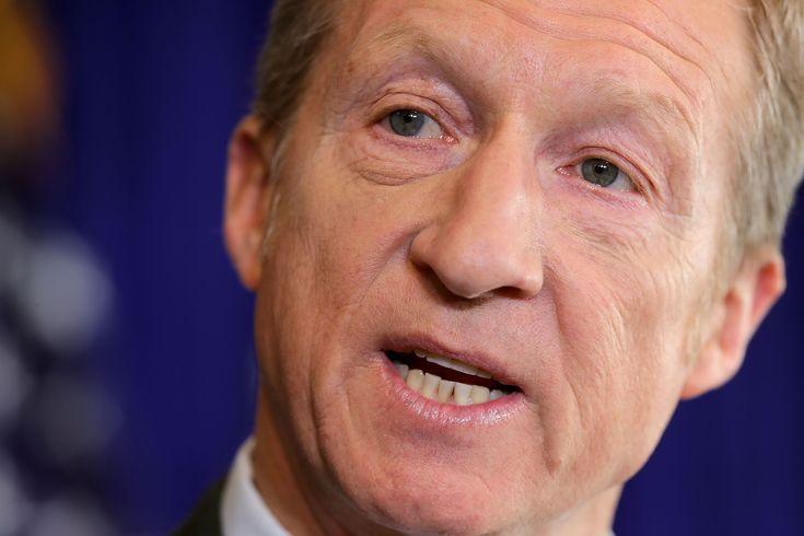 Dem donor Tom Steyer announces $30M plan to take back Congress