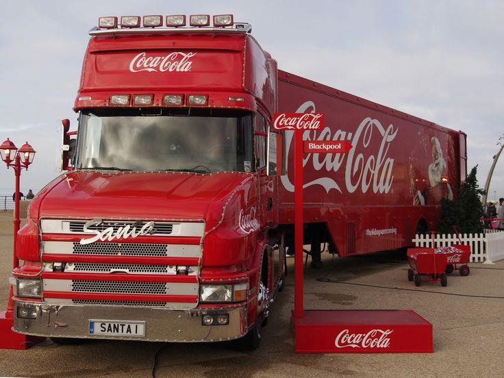 coca cola weihnachtstruck 2016 | Der Weihnachtstruck ist unterwegs, um Geld für die Hilfsorganisation ...