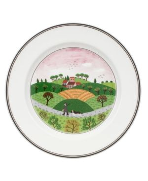 Villeroy & Boch Dinnerware, Design Naif Rim Salad Plate Hunter & Dog