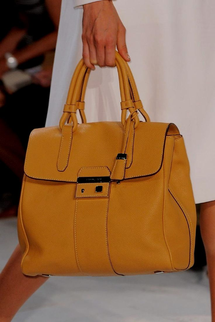 4bbf71ceaa9c Michael Kors Spring 2014 - Details leather #purses and #handbags ...