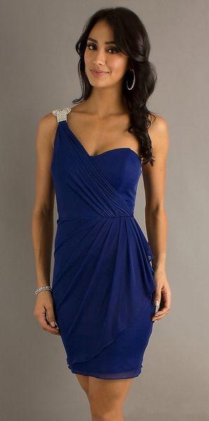 Dark Blue Semi Formal Dresses Fashion Dresses