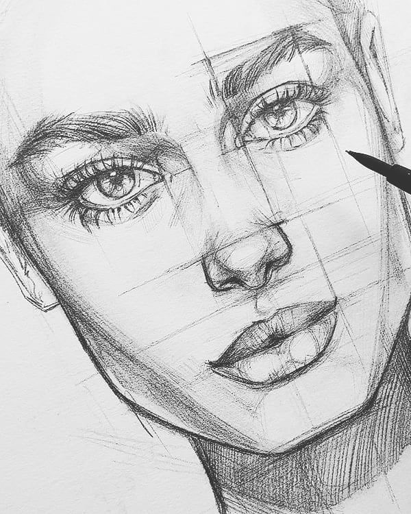 L K Wow On Instagram Lovely Pencil Sketches Which