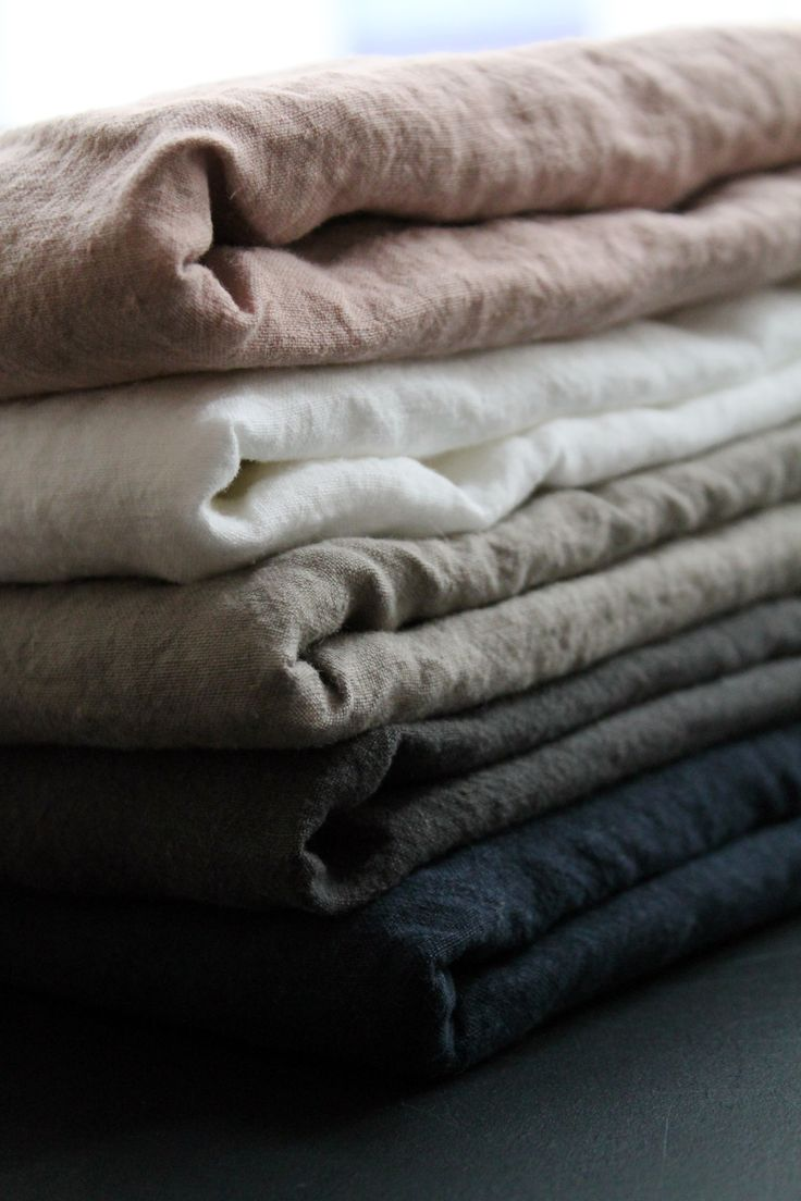 Caravane washed linen sheets - Selena