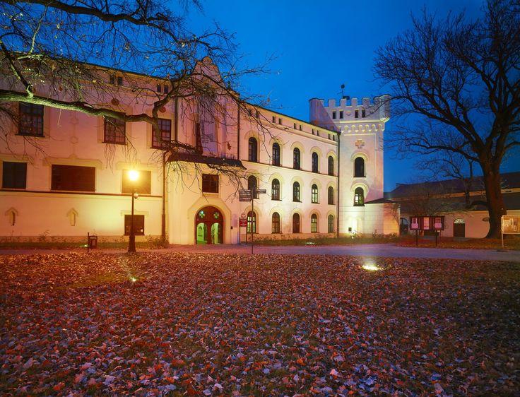 Zamek Komorowskich w Żywcu, zwany też Starym Zamkiem, to budowla z drugiej połowy XV w., która powstała na gruzach wcześniejszej warowni, zniszczonej podczas ekspedycji wojsk króla Kazimierza Jagiellończyka. Rozbudowywany kilkakrotnie obiekt zachował do naszych czasów m.in. renesansowy, arkadowy dziedziniec. Obecnie w pomieszczeniach Starego Zamku mieści się Muzeum Miejskie w Żywcu. Znajduje się tu m.in. ekspozycja etnograficzna stanowiąca uzupełnienie Szlaku Architektury Drewnianej.