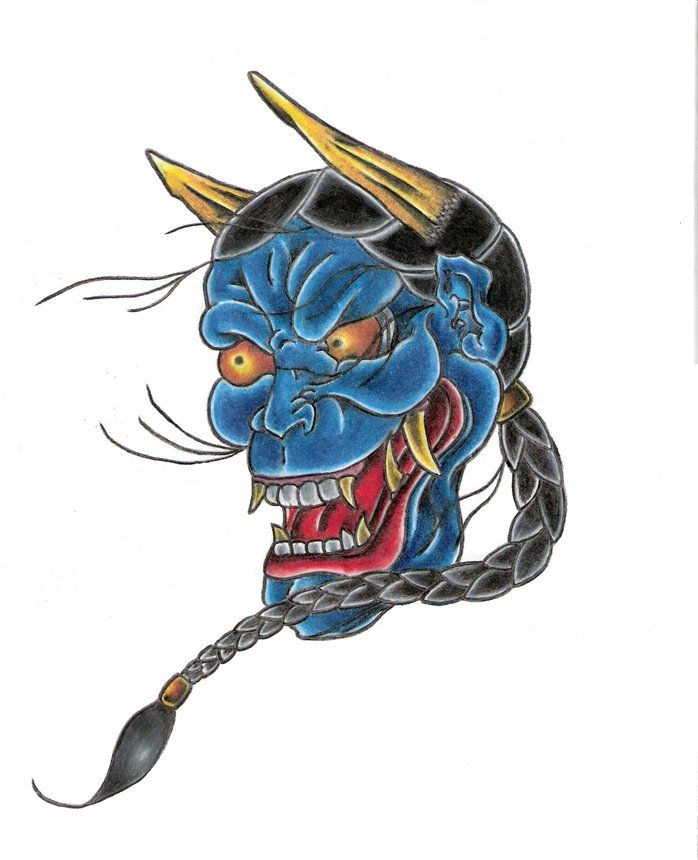 Drawings Of Satan And Demons | japanese demon adam the japanese demon is belived to be a ...