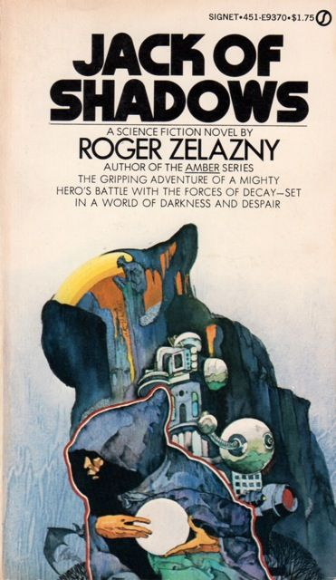Robert Pepper, Jack of Shadows, Roger Zelazny, 1972.