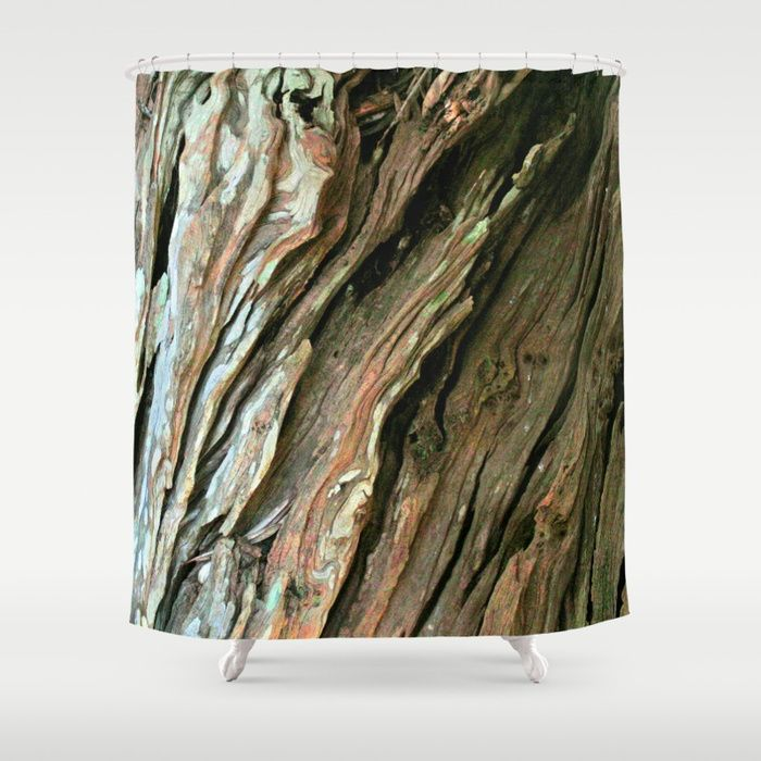 Buy Old Olive Tree Weathered Wood Shower Curtain By Annaki