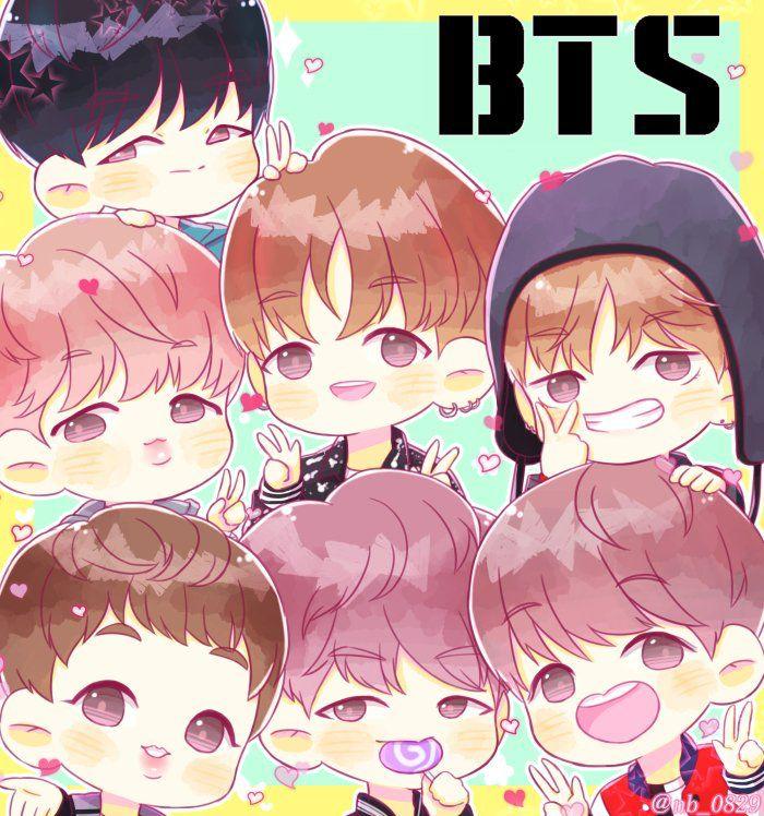 Niedlich Bts Hintergrundbild Fan Art Baby Suche Kpop
