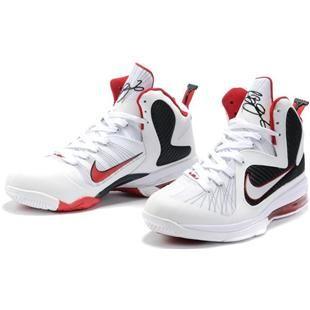 Nike Zoom LeBron 9 IX  Scarface White/Black/Red