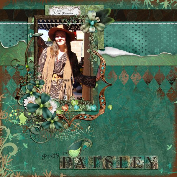 This is for Kotare's RSVP Challenge #15.  I used Annika Collection by Elizabeth's Market Cross, and One Fine Day Quick Click Template 2 by Mamrotka Designs.