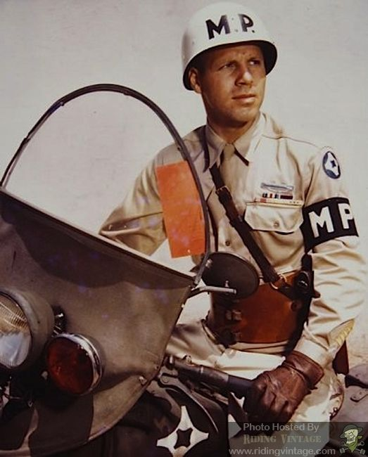Riding Vintage: The US Military Police and Their Harley-Davidson Motorcycles