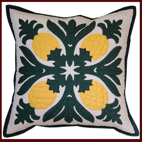 Pineapple PIllow Slip www.dbihawaii.com