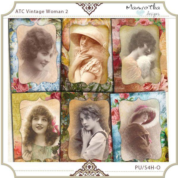 ATC Vintage Woman 2