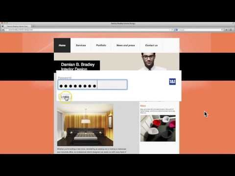 How to easily update your website with 1&1 MyWebsite