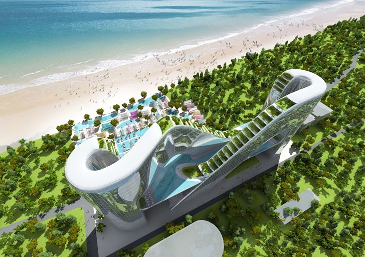 Sky garden-lined hotel in PyeongChang is a sustainable retreat...